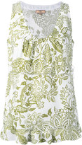 Fay floral print tank top - women - Cotton - S