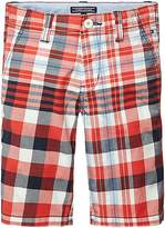 Tommy Hilfiger Final Sale-TH Kids Check Chino Short