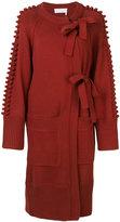 Chloé asymmetric cardi-coat