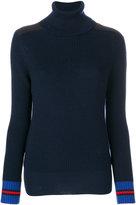 Moncler roll-neck knitted sweater - women - Virgin Wool - XS