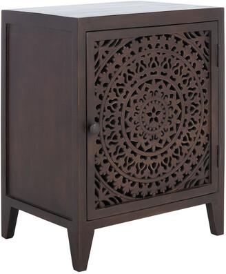 Safavieh Thea 1 Door Carved Nightstand
