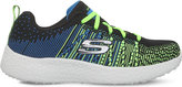 Skechers Burst In The Mix Mesh Trainers 4-10 Years