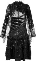 Romance Was Born 'Dark Moon Crystal' dress - women - Silk/Cotton/Nylon/Viscose - 6
