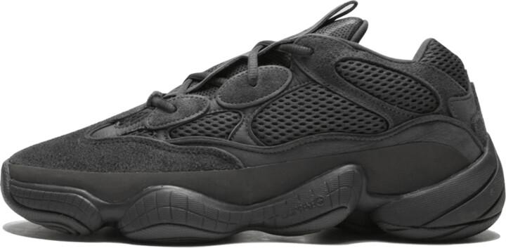 Adidas Yeezy 500 'Utility Black' Shoes - Size 4.5