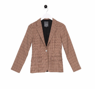 Bric A Brac Bric-a-brac - Nassla jacket chequered rose Bric-a-brac - Size XS | cotton | rose pink | chequered - Rose pink