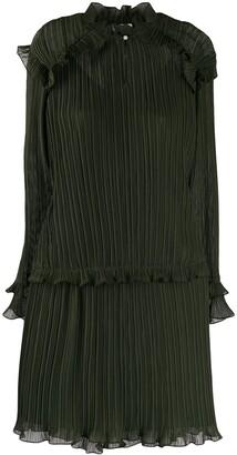 Kenzo pleated short dress