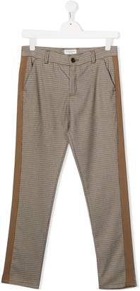Paolo Pecora Kids houndstooth trousers