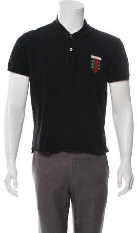 d450748d116b Gucci Black Men's Polos - ShopStyle