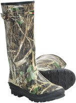 Camo Winchester Print Rubber Boots - Waterproof, Insulated (For Men)