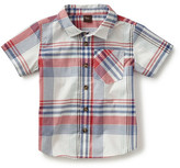 Tea Collection Madras Plaid Sport Shirt (Little Boys & Big Boys)