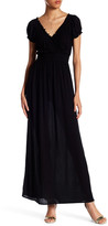 Romeo & Juliet Couture ROMEO &JULIET COUTURE Short Sleeve Gauze Maxi Dress