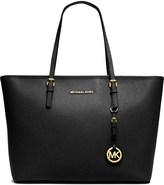 MICHAEL Michael Kors Jet Set Travel medium saffiano leather tote