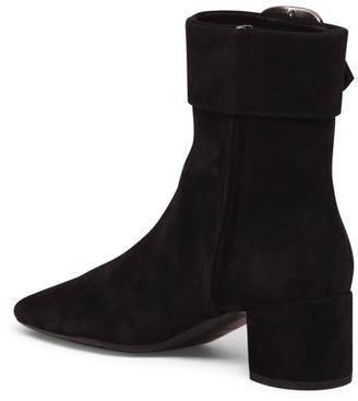 Made In Italy Suede Buckle Boots