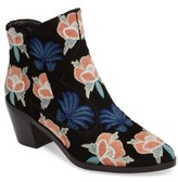 Rebecca Minkoff Women's Lulu Too Flower Embroidered Bootie