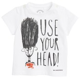 Infant Boy's Burberry Use Your Head Graphic T-Shirt