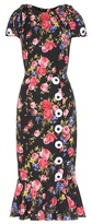 Dolce & Gabbana Printed silk dress