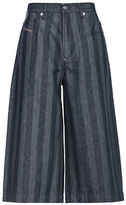 Diesel De-Lelly Denim Gaucho Trousers