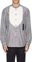 J.W.Anderson MEN'S STRIPED COTTON POPLIN SHIRT