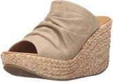 Blowfish Drapey Women US 8 Tan Wedge Sandal