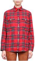 Balmain Check Wool Shirt