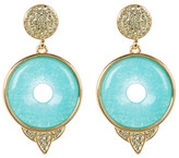 House Of Harlow Drop Amazonite Small Earrings