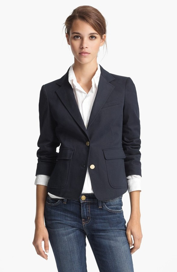 Boy By Band Of Outsiders Band of Outsiders Stretch Sateen Schoolboy Blazer