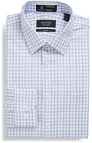 Nordstrom Men's Smartcare(TM) Wrinkle Free Trim Fit Check Dress Shirt
