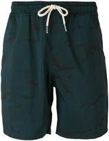 Soulland relaxed deck shorts - men - Polyamide - M