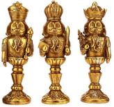 "Mark Roberts Nutcracker 8.5"" Finials - Set of 3"