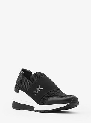 MICHAEL Michael Kors Felix Scuba And Mesh Trainer