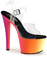 Pleaser USA Women's Rainbow 308UV Ankle Strap