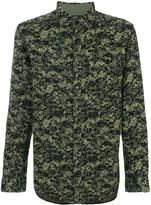 Diesel camouflage shirt