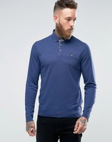 Ted Baker Longsleeve Knitted Polo