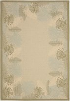 """Safavieh Courtyard Collection CY7945-14A18 and Green Indoor/ Outdoor Area Rug, 5 feet 3 inches by 7 feet 7 inches (5'3"""" x 7'7"""")"""