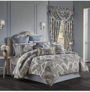 J Queen New York Glendale California King 4 Piece Comforter Set Bedding