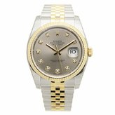 Rolex Men's m116233-0205 Datejust Silver Watch
