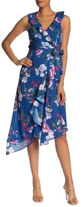 Parker Sleeveless Ruffled Midi Dress