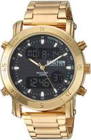 Kenneth Cole Reaction Men's Quartz Metal and Stainless Steel Casual Watch, Color:Gold-Toned (Model: RKC0217003)