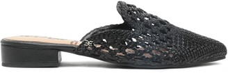 Sam Edelman Cutout Braided Leather Slippers