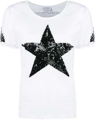 P.A.R.O.S.H. sequin star T-shirt