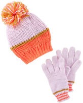 Osh Kosh Hat & Mittens Set