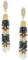 Jessica Simpson Tassel by Moonlight Beaded Tassel Drop Earrings