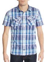 Superdry Slim-Fit Cotton Button-Down Shirt