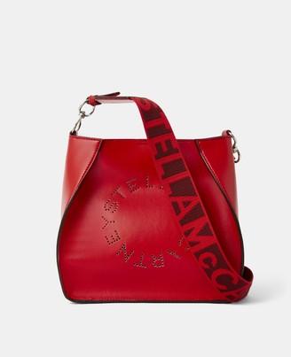 Stella McCartney Mini Stella Logo Shoulder Bag, Women's