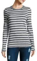Stateside Striped Long-Sleeve Cotton Top