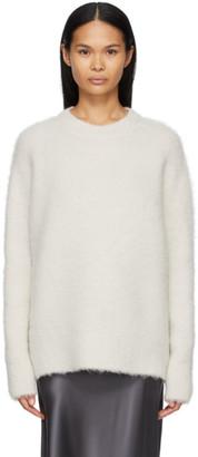 Joseph Off-White Brushed Knit Sweater