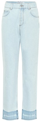 Loewe High-rise straight-fit jeans