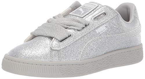 3ac30f95d0 Baby Basket Heart Patent Kids Sneaker Beetroot Purple Silver