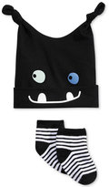 First Impressions 2-Pc. Monster Hat & Low-Cut Socks Set, Baby Boys (0-24 months), Only at Macy's