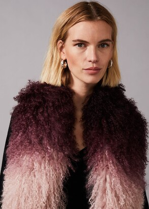 Phase Eight Maggie Mongolian Fur Scarf
